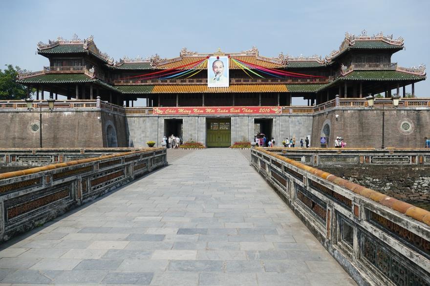 世界遺産のベトナムフエの王宮